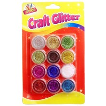 ARTBOX - METALLIC COULOUR CRAFT GLITTER - 9 PACK