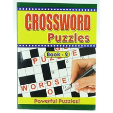 CROSSWORD PUZZLE BOOK A4