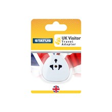 CARDED UK TRAVEL ADAPTOR