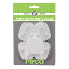 PIFCO - 5 WALL SOCKET SAFETY COVERS