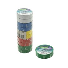 PVC INSULATION TAPE ASSORTED 20M - 10 PACK