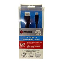 1M HDMI TO MICRO HDMI CABLE