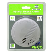 PIFCO - SMOKE ALARM BATTERY INCLUDED