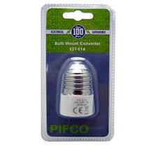 PIFCO BULB MOUNT CONVERTER E27-E14