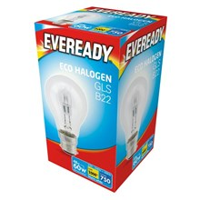 EVEREADY - ECO HALOGEN - GLS B22 - 60W