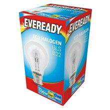 EVEREADY - ECO HALOGEN - GLS B22 - 100W