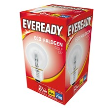 EVEREADY ECO HALOGEN GOLF E27 46W/60W