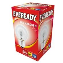 EVEREADY - ECO HALOGEN - GOLF E27 - 60W