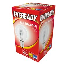 EVEREADY - ECO HALOGEN - GOLF E14 - 60W