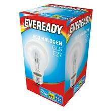 EVEREADY ECO HALOGEN GLS E27 46W/60W