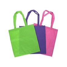 NONWOVEN SHOPPING BAG  3ASST 37 X 39.5CM