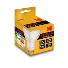 KODAK LED BULB GU10 3W/35W - WARM WHITE