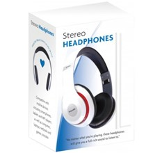 INFAPOWER WIRED STEREO HEADPHONES WHITE