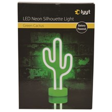 LYYT LED NEON STANDING LIGHT- CACTUS