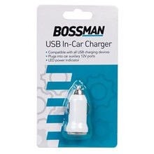 BOSSMAN - USB IN CAR CHARGER