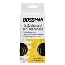 BOSSMAN - DASHBOARD AIR FRESHENERS - 2 PACK