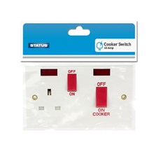 STATUS - 45 AMP COOKER SWITCH WITH NEON