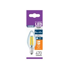 STATUS FILAMENT BULB- SES CANDLE DAY LIGHT 4W/40W