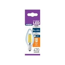 STATUS FILAMENT BULB-SES CANDLE COOL WHITE 4W/40W
