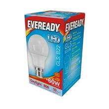 EVEREADY LED BULB - GLS DAYLIGHT - B22 8.2W-60W