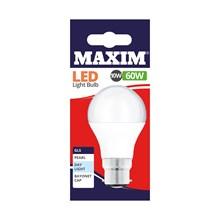 MAXIM LED BULB - GLS DAYLIGHT BC 10W/60W
