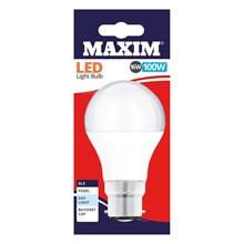 MAXIM LED BULB - GLS DAY LIGHT - BC 13W/100W