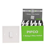 PIFCO - 1 GANG 2 WAY SWITCH - BULK