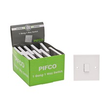 PIFCO - 1 GANG 1 WAY SWITCH - BULK