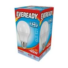 EVEREADY LED BULB - GLS DAYLIGHT - E27 5.5W-40W