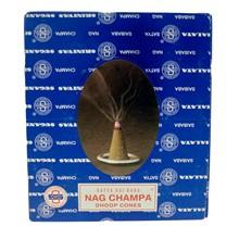 SATYA - DHOOP NAG CHAMPA CONES - 12 PACK