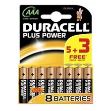DURACELL AAA PLUS POWER 5+3