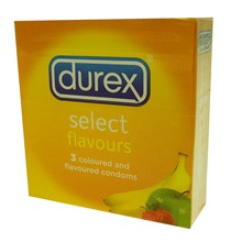 DUREX - CONDOMS SELECT - 3 X 12 PACK