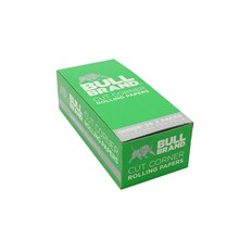 BULL BRAND GREEN REGULAR SIZE PAPERS - 50 PACK