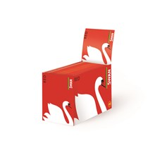 SWAN RED REGULAR SIZE PAPERS - 100 PACK