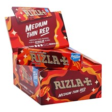 RIZLA KING SIZE SLIM RED PAPERS - 50 PACK