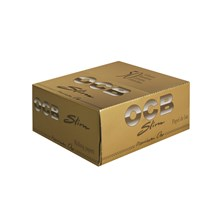 OCB GOLD KING SIZE SLIM PAPERS - 50 PACK
