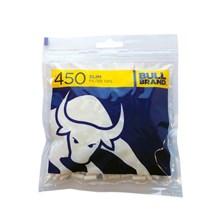 BULL BRAND SLIM FILTERS - 450 TIPS PACK