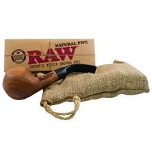 RAW NATURAL WOOD PIPE