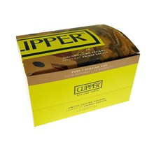 CLIPPER PURE UNBLEACHED REGULAR SIZE PAPERS (50)