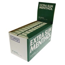 CLIPPER EXTRA SLIM MENTHOL POP UP FILTER TIPS - 20