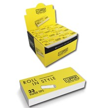 CLIPPER ROLLING PAPER TIPS - 80 PACK