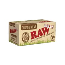 RAW ORGANIC 5M ROLLING PAPERS (24)