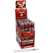 CLEAR CYCLONE CONES - CHERRY - 24PACK