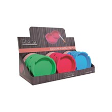 CHAMP SILICONE ASHTRAY 8.2CM