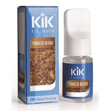 KIK E-LIQUID 0MG TOBACCO BLEND 10ML