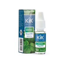 KIK E-LIQUID 0MG MENTHOL 10ML