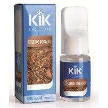 KIK E-LIQUID 16MG ROLLING TOBACCO 10ML
