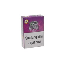 DOUBLE PLATINUM 2 X PURPLE BLUNT WRAPS - 25 PACK