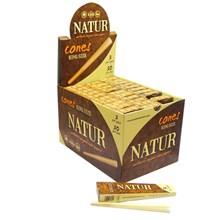 NATUR 3PK CONES (30)