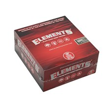 ELEMENTS RED KING SIZE SLIM PAPERS - 50 PACK